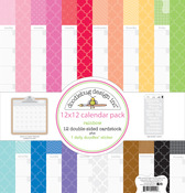 Daily Doodles Rainbow Assortment Paper Pack - Doodlebug
