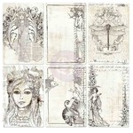 Bohemian 4x6 Pocket Paintable Cards - Prima
