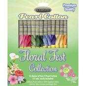 Floral Fest - Sullivans Size 5 Pearl Cotton Pack 15yd 12/Pkg
