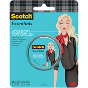Scotch Essentials Accessory Tape Circles