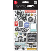Chalk-Colored Amazing - Chipboard Value Pack