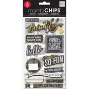 Chalk-Makes Me Smile - Chipboard Value Pack