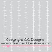 """Frankenstitches - C.C. Designs Stencils 6""""X6"""""""
