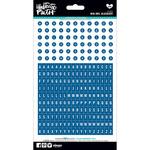 "Mini; Mrs. Blueberry (Blue) - Illustrated Faith Genesis Alphabet Stickers 5""X9"""