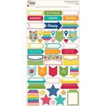 Sew Happy Cardstock Stickers - Jillibean Soup