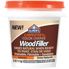 Natural - Elmer's Color Change Wood Filler 4oz Elmers X Acto-Elmers Color Change Wood Filler. Ideal for paper, cloth, crafts and more! This package contains one 4 oz bottle of wood filler. WARNING: Choking Hazard-small parts. Not for children under 3 years. Made in USA.