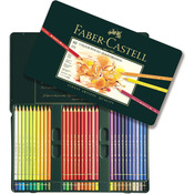 Polychromos Colored Pencil Set In Metal Tin 60pc