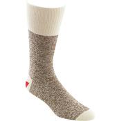 Size Medium Brown - Red Heel Monkey Socks 2 Pairs
