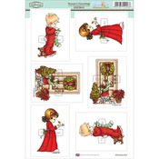 "Season's Greetings - Elisabeth Bell Topper Sheet 8.3""X12.2"""
