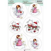 "Winter Wishes - Sugar Nellie Topper Sheet 8.5""X12.2"""