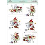 """Christmas Magic - Sugar Nellie Topper Sheet 8.5""""X12.2"""""""