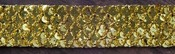 Gold Sequin Trim - Memory Hardware - Prima