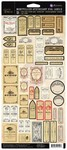 Montpellier  Apothecary Vial Labels - Memory Hardware - Prima