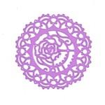 Lace Rose Purple Metal Die - Prima