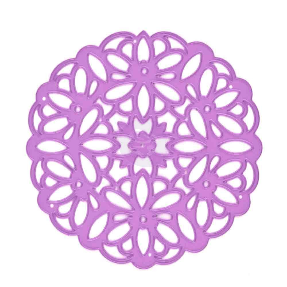 Victorian Lace Purple Metal Die - Prima