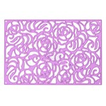 Rose Wall Purple Metal Die - Prima
