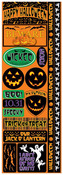 The Halloween Collection Cardstock Combo Stickers - Reminisce