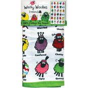 Wacky Woollies Single Tea Towel