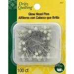 100/Pkg - Dritz Quilting Glow Pins