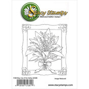 """Lily Of The Valley - Stacy Stamps Cling Mounted Stamps 3""""X3.5"""""""