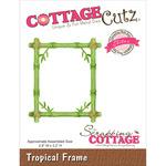 "Tropical Frame 2.8""X3.2"" - CottageCutz Elites Die"