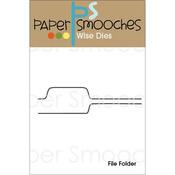 File Folder - Paper Smooches Die