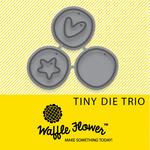Tiny Trio - Waffle Flower Die