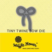 Twine Bow - Waffle Flower Tiny Die