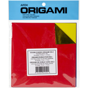 "Assorted Colors Double-Sided Foil - Origami Paper 5.875""X5.875"" 18 Sheets"