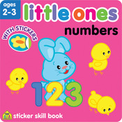 Numbers - Little Ones Sticker Skill Book