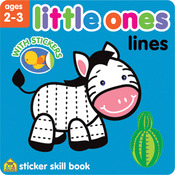 Lines - Little Ones Sticker Skill Book