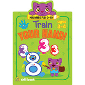 Numbers 0-10 - Train Your Hand Skill Book