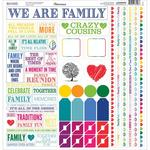 Our Family Cardstock Multi Stickers - Reminisce