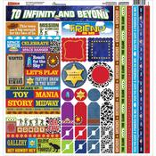 Toybox Cardstock Multi Stickers - Reminisce