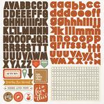 Autumn Day Alpha Sticker Sheet - Photoplay