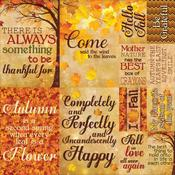 Harvest Cardstock Poster Stickers - Reminisce