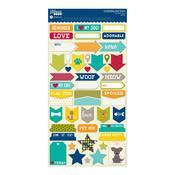 Fur Fusion Pets Cardstock Stickers - Jillibean Soup