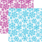Snowflake Paper - Frosted - Reminisce