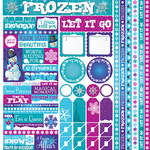 Frosted Cardstock Multi Sticker Sheet - Reminisce