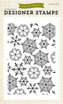 Snowflakes #1 Background Clear Stamp - Echo Park