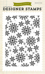 Snowflakes #3 Background Clear Stamp - Echo Park