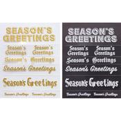 Season's Greetings Rub-ons - Little B