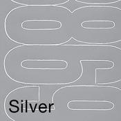 "Silver - Permanent Adhesive Vinyl Numbers 4"" 49/Pkg"