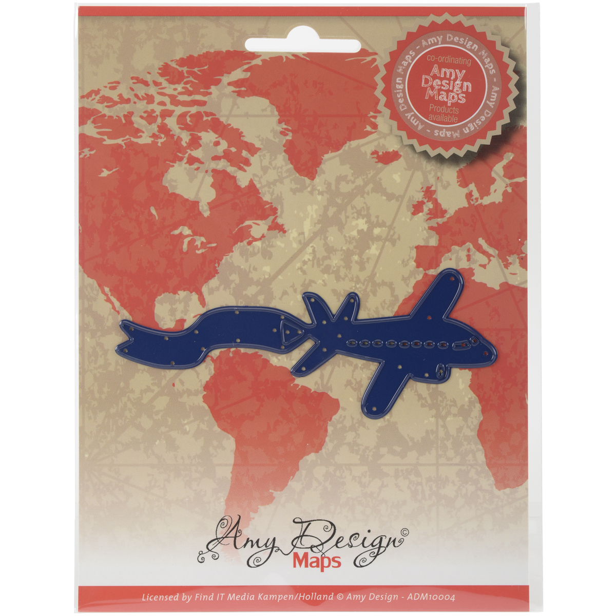 Airplane - Find It Trading Amy Design Map Die
