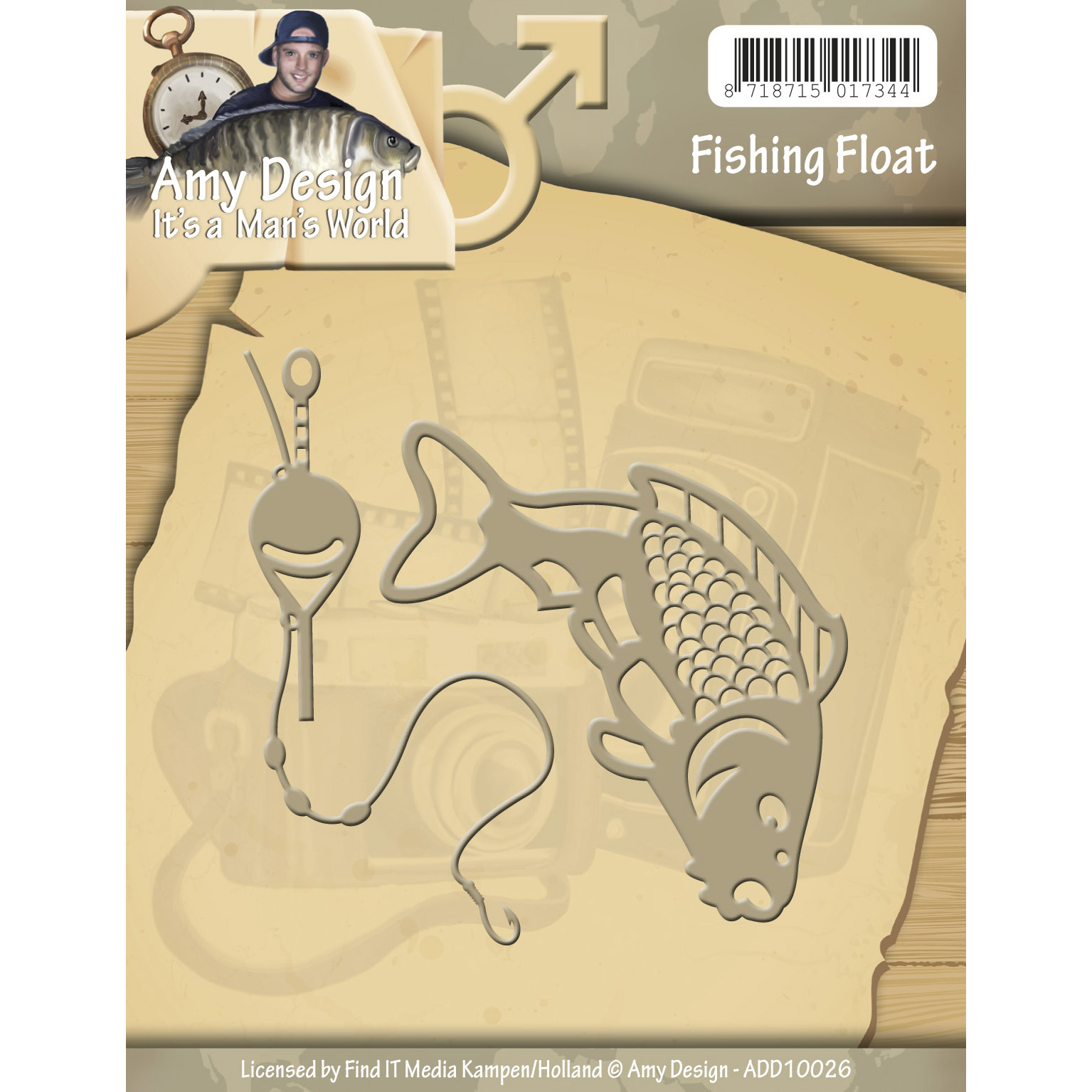 Fish & Bobber - Find It Trading Amy Design It's A Mans World Die