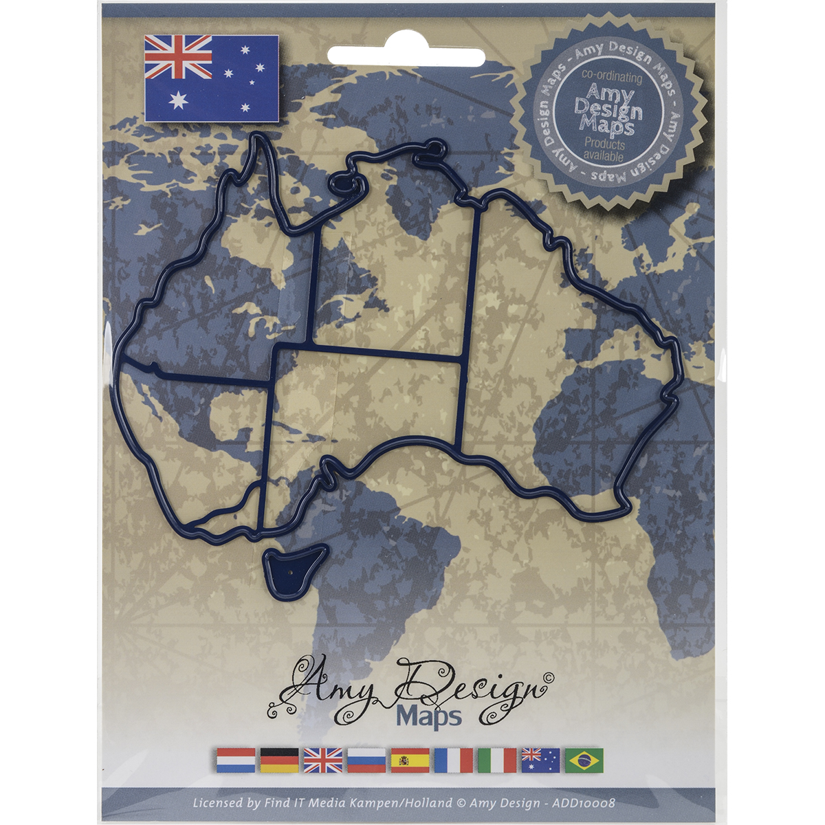 Australia - Find It Trading Amy Design Map Die