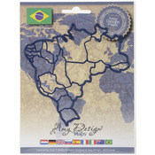 Brazil - Find It Trading Amy Design Map Die
