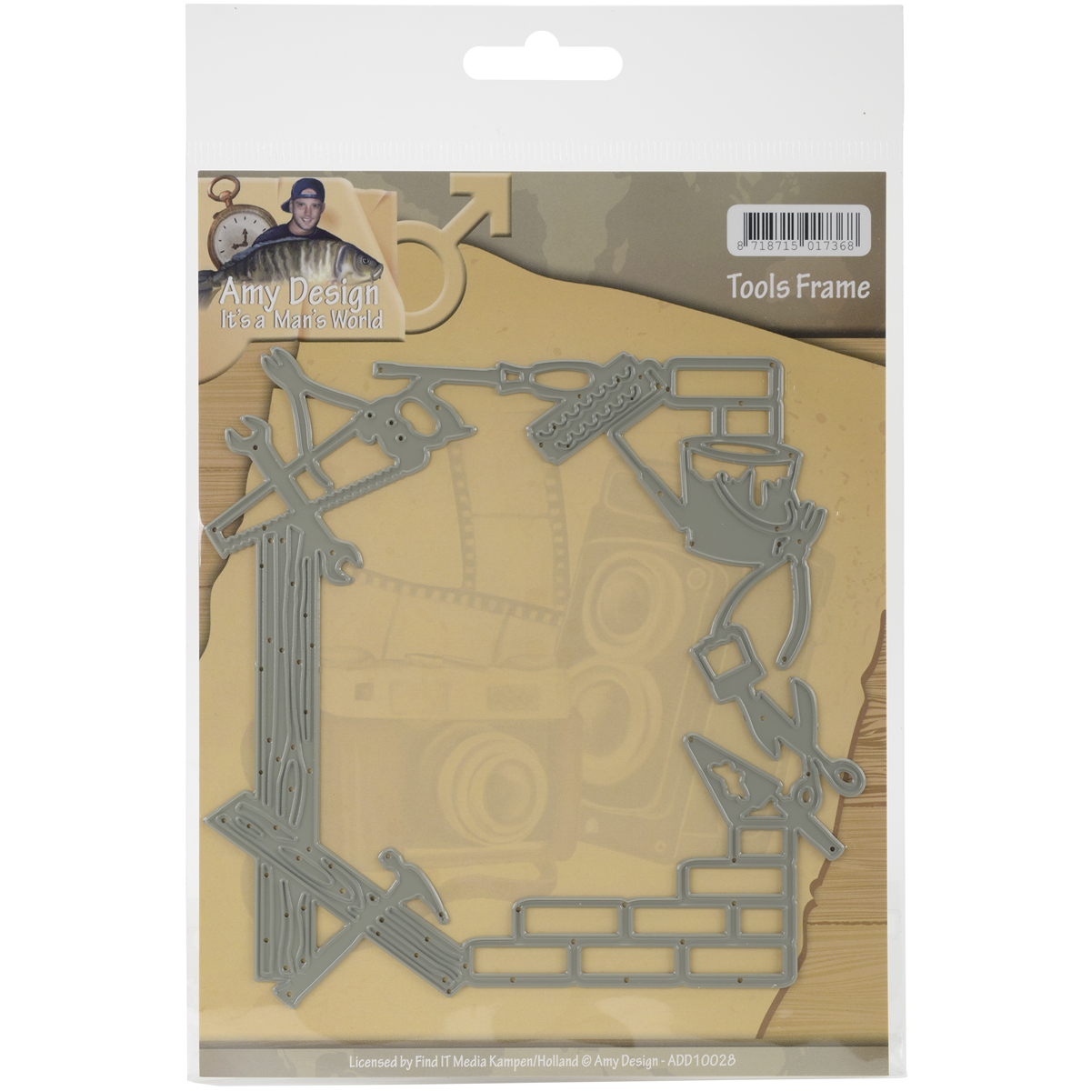 Tools Frame - Find It Trading Amy Design It's A Mans World Die