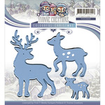 Reindeer - Find It Trading Yvonne Creations Colourful Christmas Die