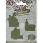 Little Village - Find It Trading Yvonne Creations Magnificent Christmas Die